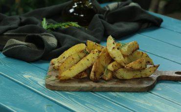Taze Baharatlı Patates