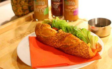 Somon Füme Sandviç Tarifi