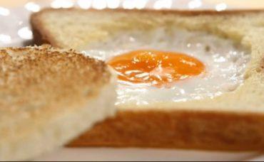 Ekmek İçinde Yumurta Tarifi