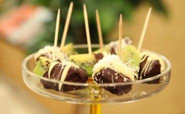 Çikolata Kaplı Kivi Dilimleri Tarifi