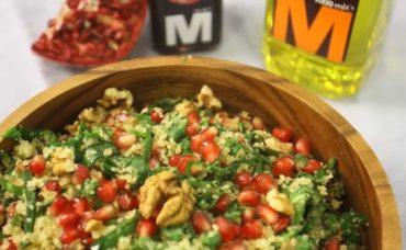 Narlı Ispanaklı Salata Tarifi