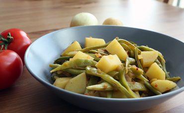 Patatesli Taze Fasulye Tarifi