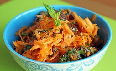 Hurmalı Havuç Salatası Tarifi