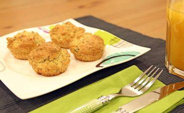 Lor Peynirli ve Fesleğenli Muffin Tarifi