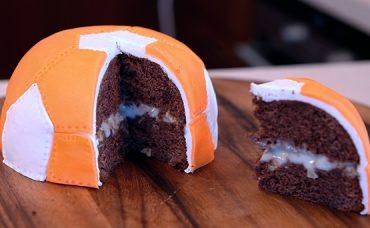 Futbol Topu Şeklinde Pasta Tarifi