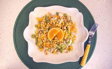 Brezilya Usulü Portakallı Salata Tarifi