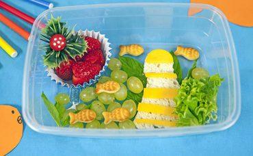 Okula Hazırlık! Deniz Temalı Beslenme Çantası Nasıl Yapılır?