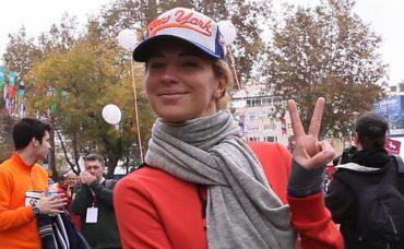 Burcu Esmersoy Maraton Yürüyüşünde Bizimleydi