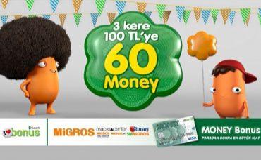 Migros Reklam Filmi; Money Bonus Kampanyası