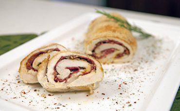 Mozzarella Peynirli Tavuk Sarma Tarifi