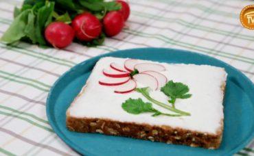 Çiçekli Turp Sandviç Tarifi