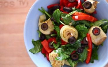Ispanaklı Enginar Kalbi Salatası Tarifi