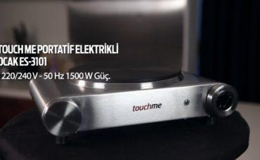 Touch Me Portatif Elektrikli Ocak ES3101