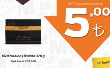 Migros'ta Gördüğünüze İnanın: DVN Madlen Çikolata
