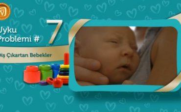 Bebeklerde Uyku Problemi: Diş Çıkartan Bebekler