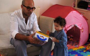 Çocuklarla Kitap Okuma Aktivitesi