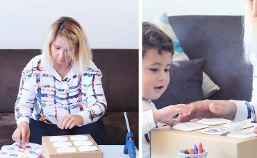 Bebeğinizle Aktivite; Islak Mendil Kapaklarını Eşleştirme Oyunu