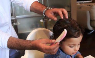 Kıvırcık Saçlı Bebekler İçin Saç Bakım Önerileri