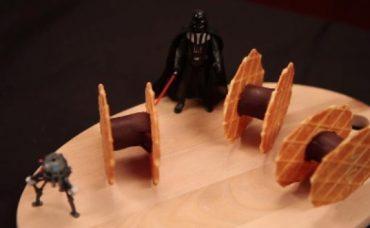 Çikolatalı ve Bisküvili Star Wars Uçağı Tarifi