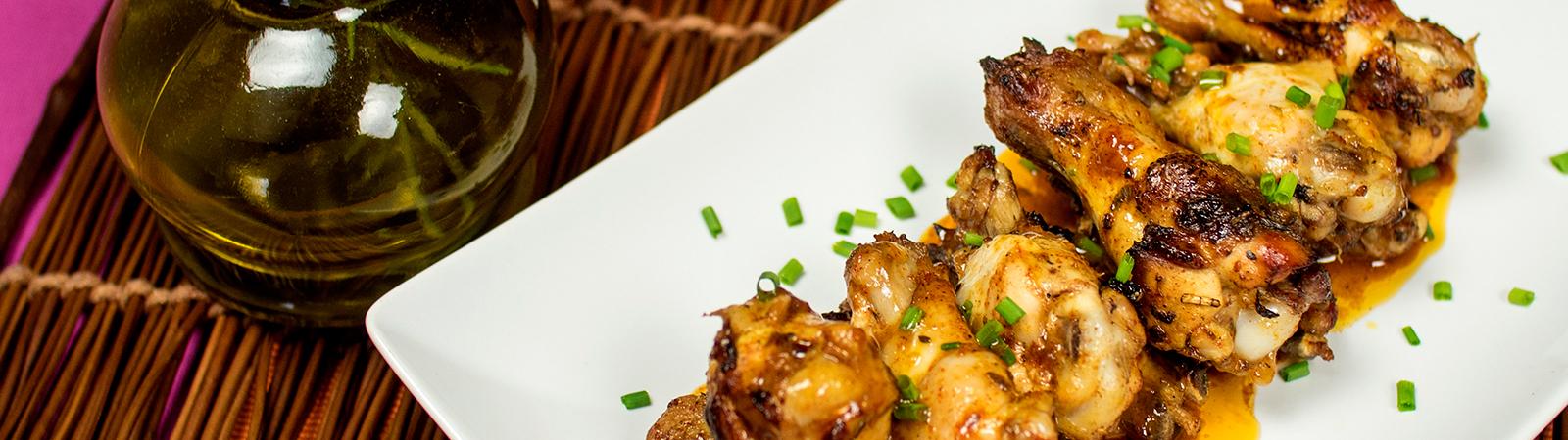 Baharatlı Tavuk Kanatları Tarifi
