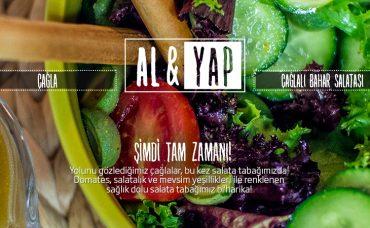 Çağlalı Bahar Salatası Tarifi