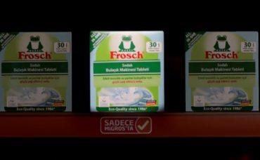 Frosch Bulaşık Makinesi Tableti Sadece Migros'ta!
