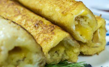 Peynirli Ekmek Ruloları
