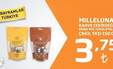Milleluna Kahve Çekirdeği Draje ve Çakıl Taşı Şekerleri İndirimli Fiyatıyla Migros'ta!