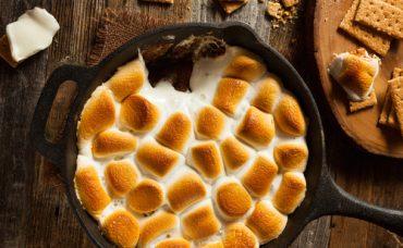 Erikli Marshmallow Tatlısı Tarifi