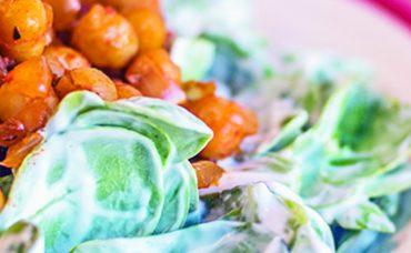 10 TL Altı Tarifler: Nohutlu Semizotu Salatası
