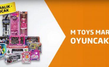 M Toys Markalı Oyuncaklarda % 40 İndirim Migros'ta!