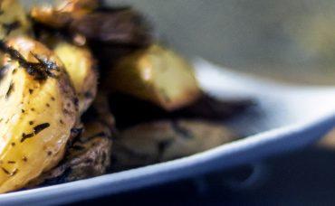 Zahterli Fırın Patates Tarifi