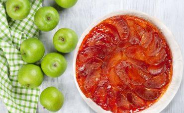 Elmalı Ters Yüz Tart (Tarte Tatin) Tarifi