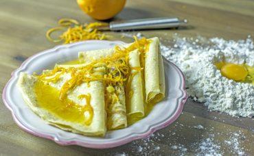 Crepe Suzette (Portakallı Krep) Tarifi
