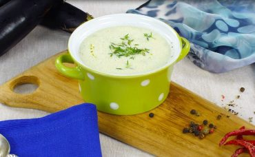 Soğuk Patlıcan Çorbası Tarifi