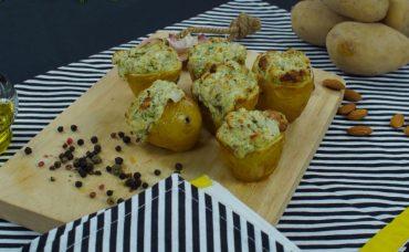 Peynirli Taze Patates Tarifi
