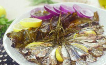 Salamura Yaprağı İle Kokusuz İstavrit Nasıl Pişirilir?