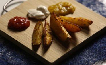 Elma Dilim Fırın Patates Tarifi