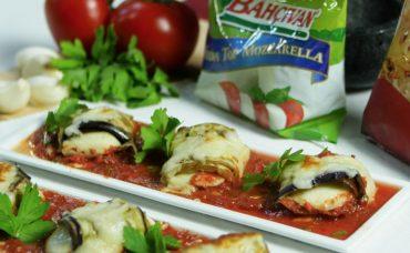 Rende Mozzarella Izgara Patlıcan Tarifi