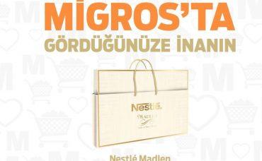 Migros'ta Gördüğünüze İnanın: Nestle Madlen Çikolata