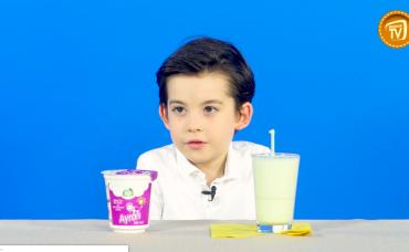 Çocuklar Deniyor: Ayran Çeşitleri