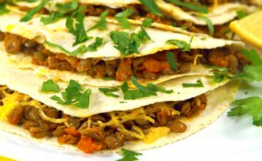 Tazmanya Mercimekli Taco