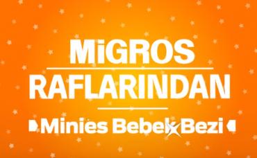 Migros Raflarından Yıldız Ürünler: Minies Bebek Bezi