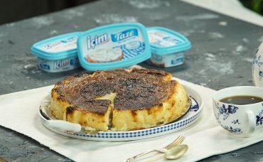 İçim Taze Peynir ile San Sebastian Cheesecake