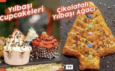 Milföyden Yılbaşı Ağacı ve Rengarenk Cupcakeler