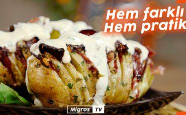 Akordiyon Patates | İster Ana Yemek İster Aperatif