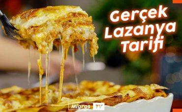 Kıymalı Beşamel Soslu Lazanya Tarifi