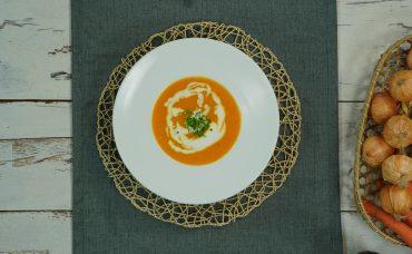 Portakallı Havuç Çorbası