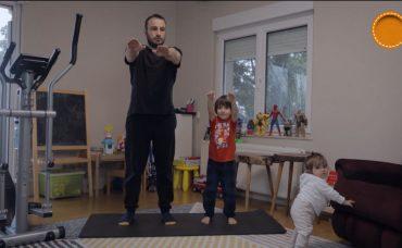 Ali ve Uras ile Çocuklarla Birlikte Yapılabilecek Egzersiz Hareketler