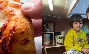 Ali ve Uras Evde Pizza Yapıyor – Çocuklarla Evde Aktiviteler